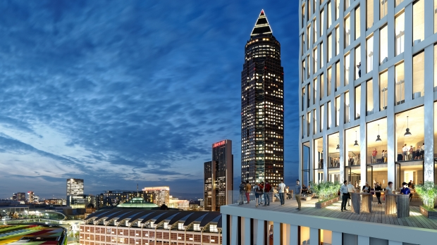 Der Tower One in Frankfurt